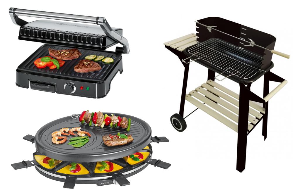 Grills, planchas et raclettes